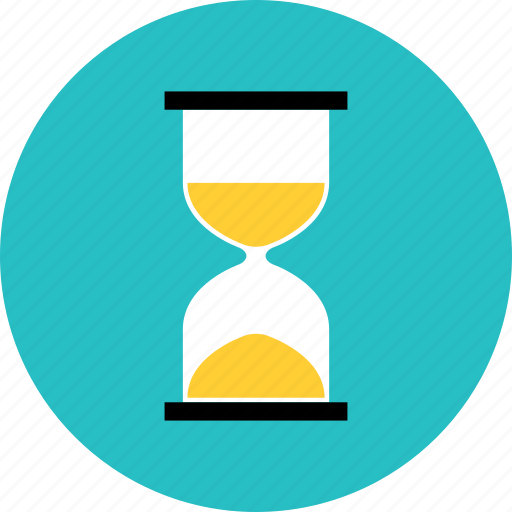 clock, glass, hour, hourglass, loading, sandclock, sandglass, timer icon