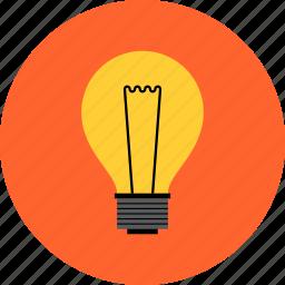 bulb, creative, idea, innovation, light, lightbulb, solution icon