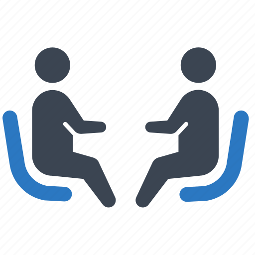 Employment, job interview, meeting icon - Download on Iconfinder