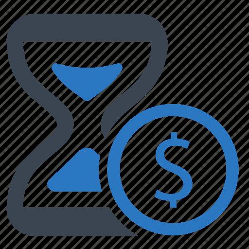 deadline, hourglass, timer icon