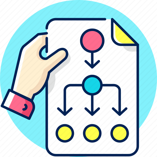 business, plan, planning, schedule, strategy, workflow icon