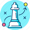 business, chess, finance, marketing, solution, strategy icon