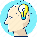 business, creative, idea, imagination icon