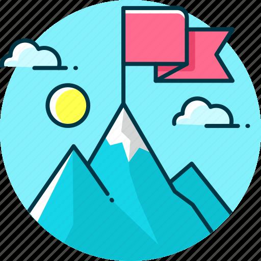 aim, business, goal, marketing, target icon