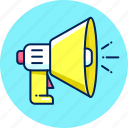 advertising, announce, announcement, marketing, promotion icon