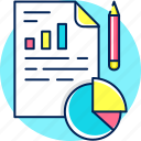 analysis, analytics, business, graph, report, statistics icon