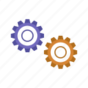 configuration, gear, preferences, setting, settings, tool icon