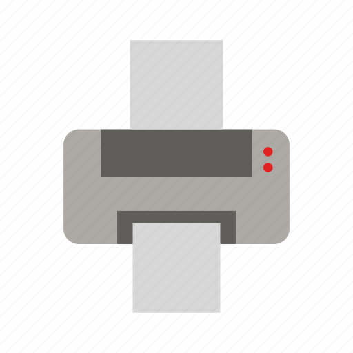 document, file, page, paper, print, printing icon