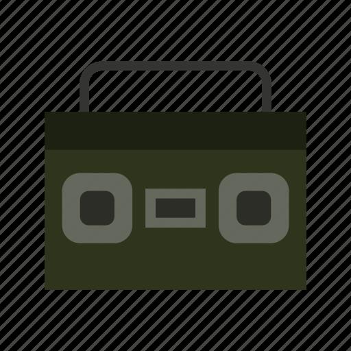 audio, media, multimedia, music, sound, stereo, video icon