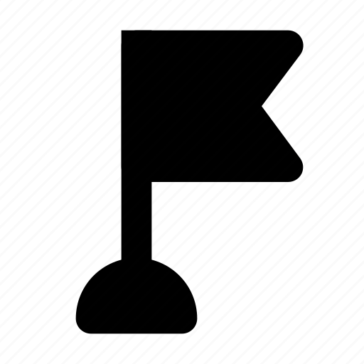 business, check, flag, management, mark, point, progress icon