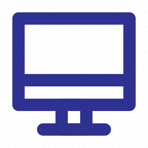 computer, device, display, monitor, pc, screen icon
