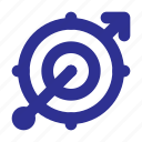 aim, business, focus, goal, seo, target icon