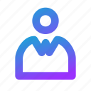 friendly, interaction, person, user, user friendly, blue