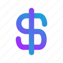 dollar, fee, income, money, price, salary, blue
