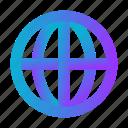 blue, earth, global, globe, universal, world icon