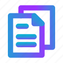 blank, creative, data, document, file, page, paper icon