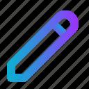 add, blue, edit, pen, pen tablet, pencil, write icon