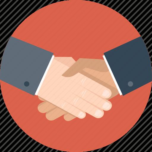 agreement, business, hand, handshake, partner, partnership icon