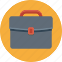 bag, round, briefcase, business, portfolio