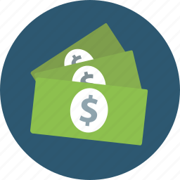 accrue, balance, bundle, cash, claims, costs, dividends, dollar, expense, expenses, fee, fortune, installment, invest, jackpot, loan, money, profit icon