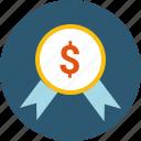 accrue, approve, budget, charity, donate, goal, guarantee, profit, sponsor icon