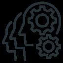 cogwheel, finance, gears, team, teamwork, work icon