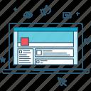 media, coding, network, website, development, campaign, social icon