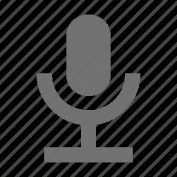 mic, microphone, recording, retro, studio mic icon