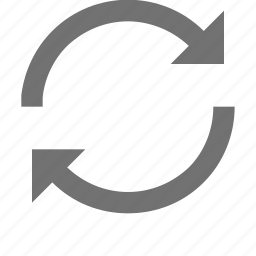 initializing, processing, refresh, sync, synchronization icon