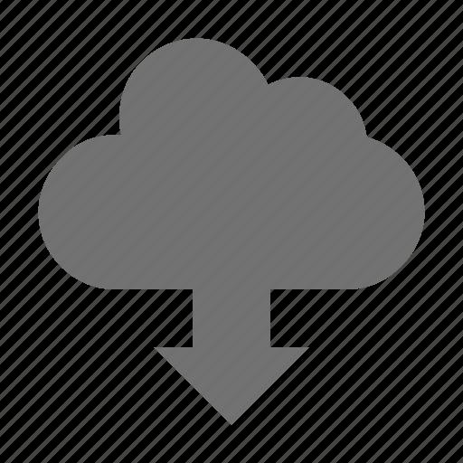 cloud download, cloud downloading, cloud transfer, download, icloud icon