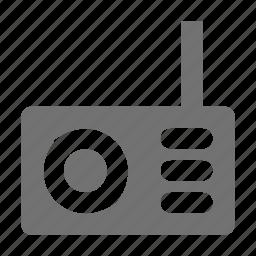 radio, radio antenna, radio set, transmission, wireless radio icon