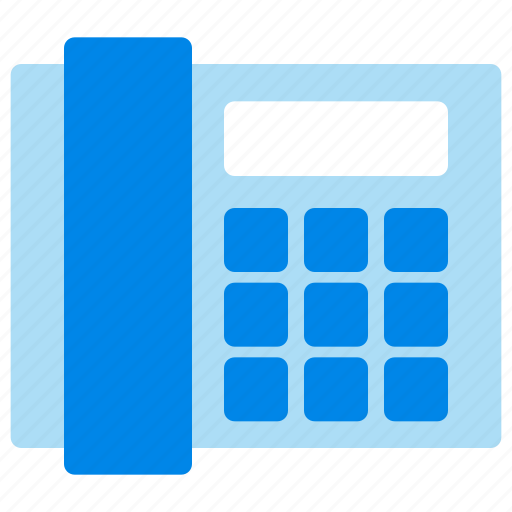 business, office, phone, telephone icon