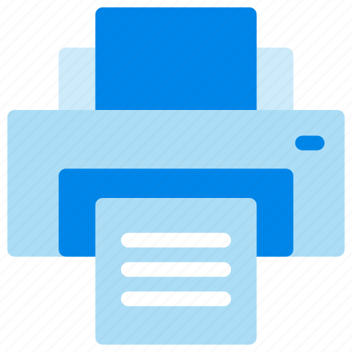 business, document, office, printer icon