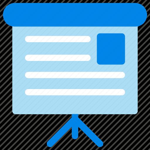 business, meeting, presentation, training icon