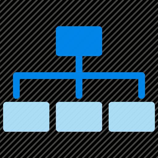 management, organization, structure, team icon