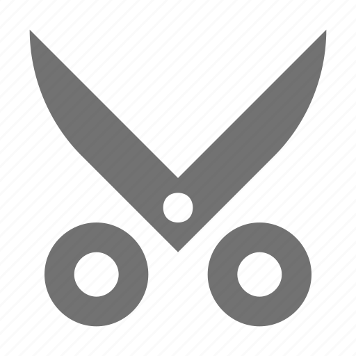 cutting tool, edit, scissor, utensil, work tool icon