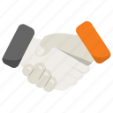 business, handshake, partnership icon