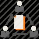 business, deadline, teamwork icon