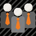 business, leadership, teamwork icon