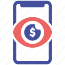 mobile, online, pay, social market, web page icon