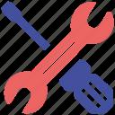 maintenance, online, seo, social market, web page icon