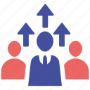 audience, online, social market, target, web page icon