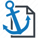 anchor, business, business icon, businessman, seo, text icon