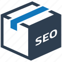 business, business icon, businessman, packages, seo icon