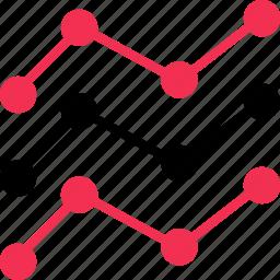analytics, data, graph, report icon