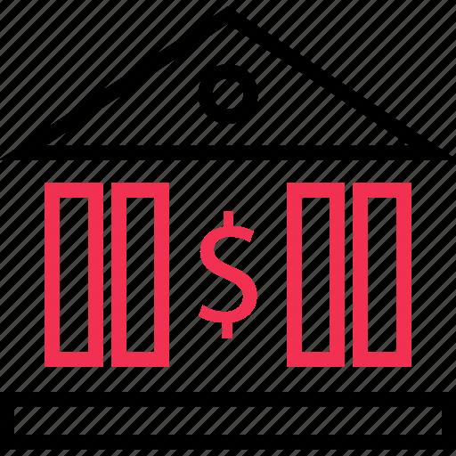 banking, euro, money, sign icon