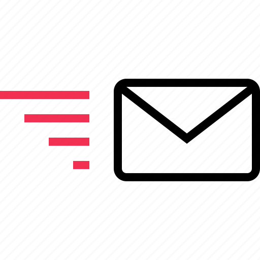 delivery, email, fast, send icon