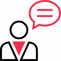 chat, checkmark, talk icon