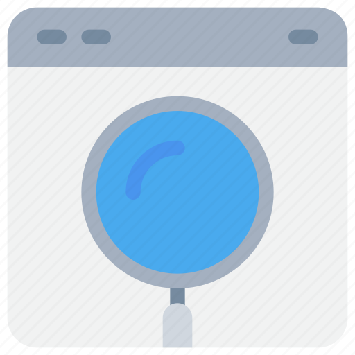 browser, business, research, search, seo icon