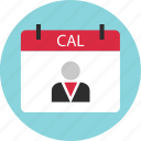 appointment, calendar, date, even, important, meeting icon